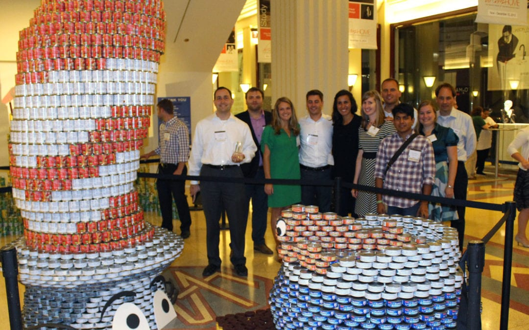 Canstruction 2014 Kick Off