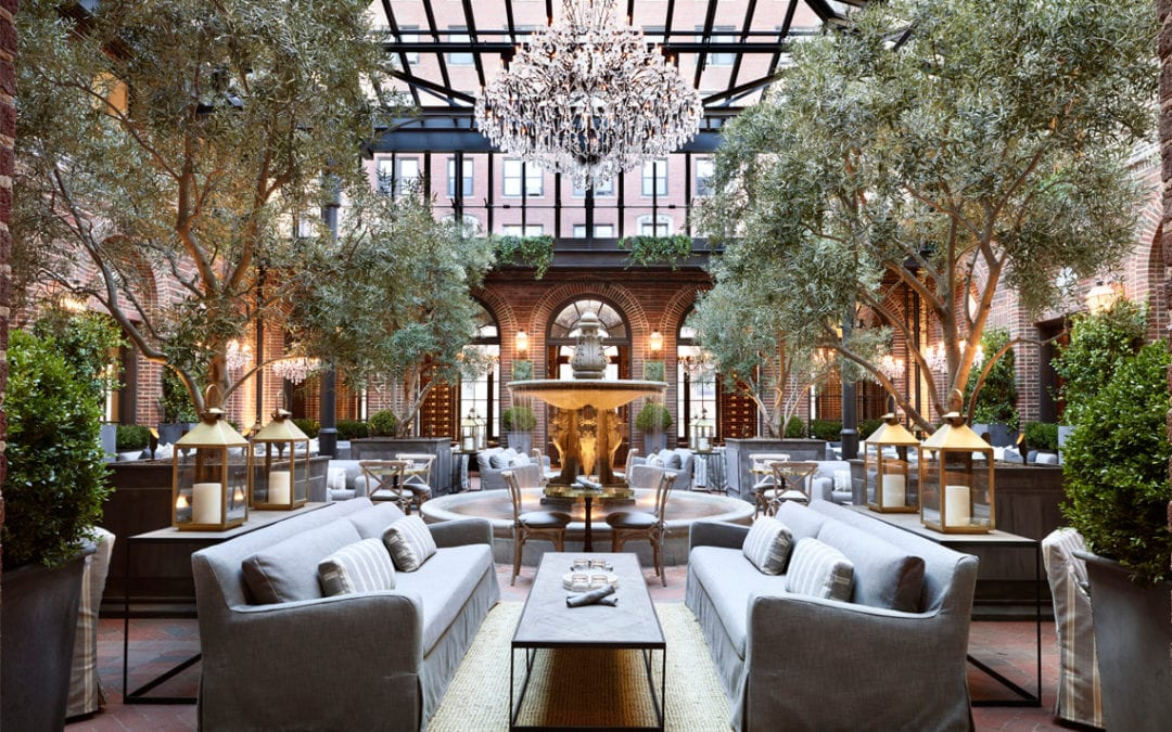 RESTORATION HARDWARE AT THE THREE ARTS CLUB OPENS
