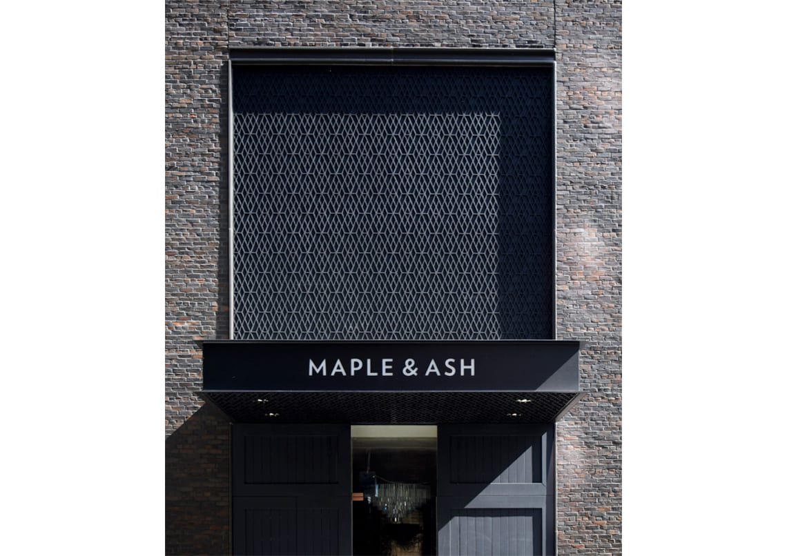 1100 north state maple and ash entry