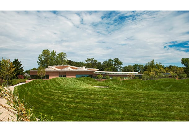 THE LEARNING CENTER AT THE CHICAGO BOTANIC GARDEN NEARS COMPLETION