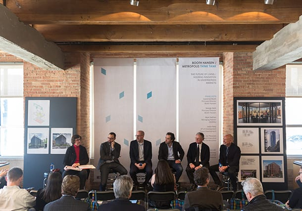 BOOTH HANSEN HOSTS 'METROPOLIS' THINK TANK DISCUSSION