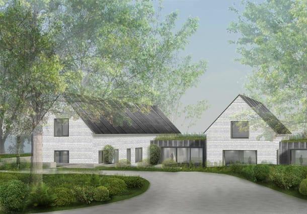 Construction Begins on Booth Hansen Designed Lake House